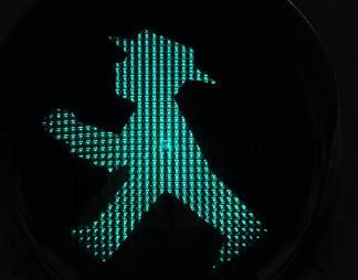 很有个性的交通信号灯图片