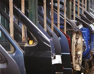汽车生产线图片